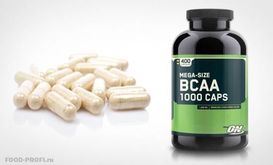 BCAA-kapsul