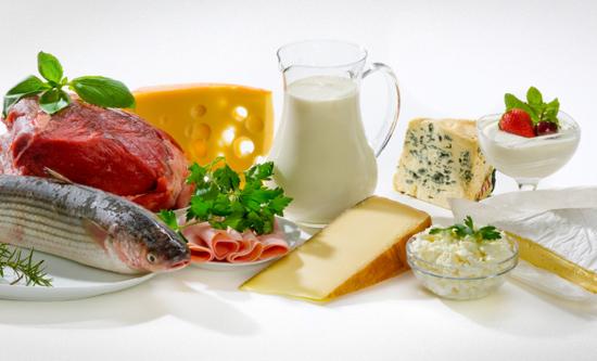 Рыба-мясо-сыр